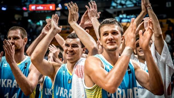Євробаскет 2017: Радість збірної України після перемоги над Ізраїлем