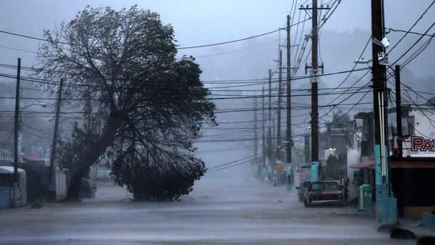 Ураган на американском побережье