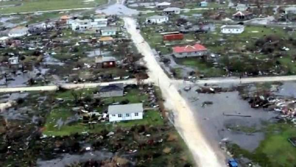 """Ураган """"Ірма"""" знищив острів Барбуда на Карибах"""
