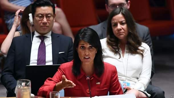 США подготовили в ООН проект резолюции о нефтяном эмбарго КНДР