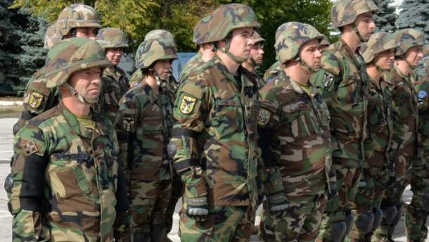 Молдавские военные приехали на учения в Украину вопреки Додону