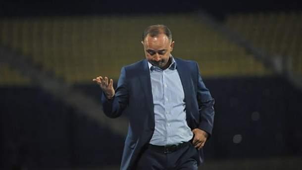Тренер сборной Узбекистана Самвел Бабаян