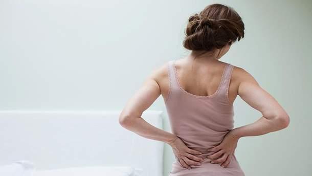 Боль в спине может быть связана с психологическими факторами