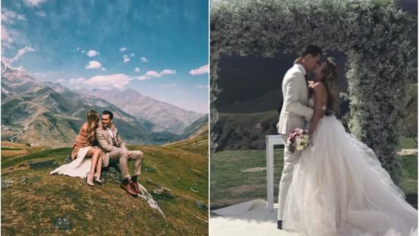 Весілля  Олександра Скічко та Єлизавети Юрушевої в Грузії