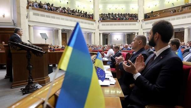 Порошенко анонсировал новый языковой закон