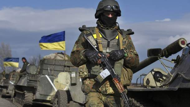 З зони АТО відкликали генерала України