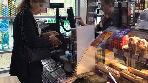 Марина Порошенко в магазине: фото