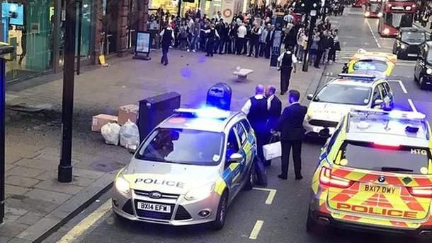 В Лондоні стався вибух: фото та відео