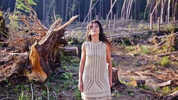 Руслана показала первые кадры социальных роликов в поддержку Карпат и карпатских пралесов