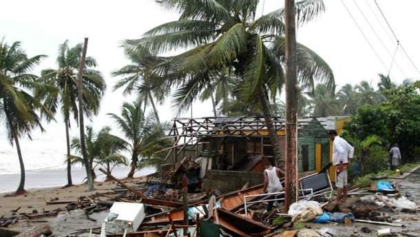 """Последствия урагана """"Ирма"""""""