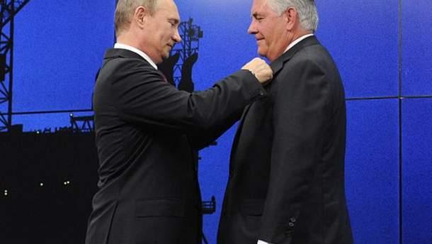 """Заяву Путіна про Тіллерсона в Держдепі назвали """"цікавим коментарем"""""""