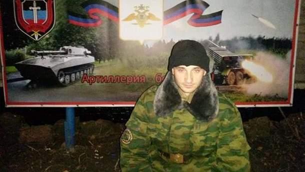 На Донбассе погиб террорист из Горловки