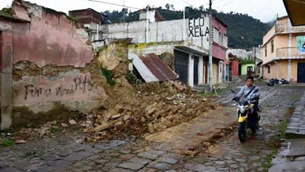 Землетрус у Мексиці забрав життя кількох людей