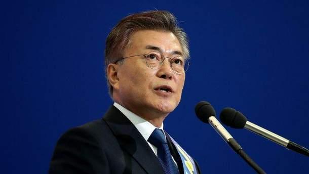 Мун Чже Ін не хоче ще війни з КНДР