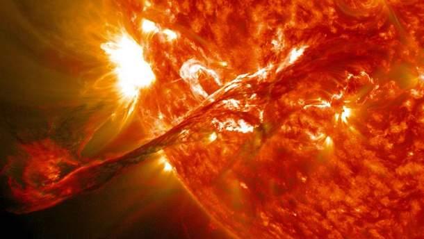 Вспышка на Солнце сегодня 8 сентября