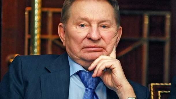 Кучма критикує план Росії щодо введення на Донбас миротворців