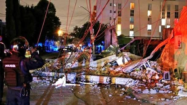Землетрус у Мексиці: 15 загиблих
