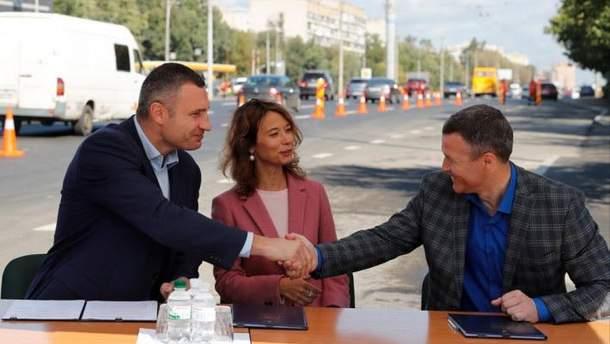 Виталий Кличко после подписания Меморандума