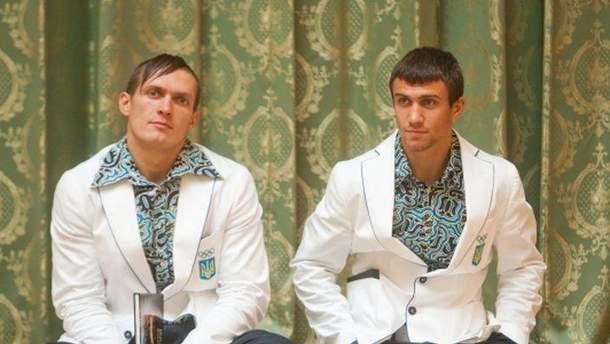 Александр Усик и Василий Ломаченко