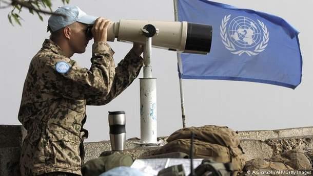 Миротворцы ООН могут появиться на Донбассе не ранее чем через 6 месяцев