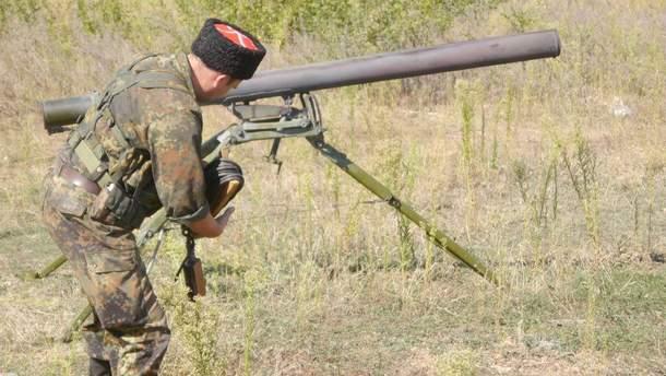 Терористи Донбасу не припиняють обстрілювати українські позиції