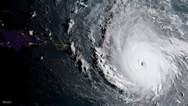 """Ураган """"Ірма"""" посилився до максимальної категорії потужності"""