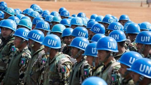 Введення миротворців на Донбас