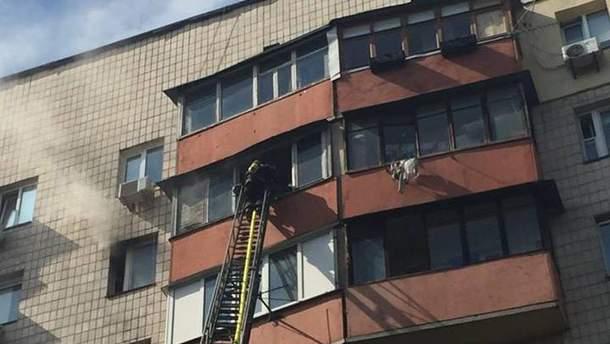 Пожарным удалось потушить огонь