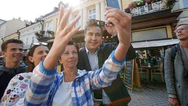 Возвращение Михаила Саакашвили