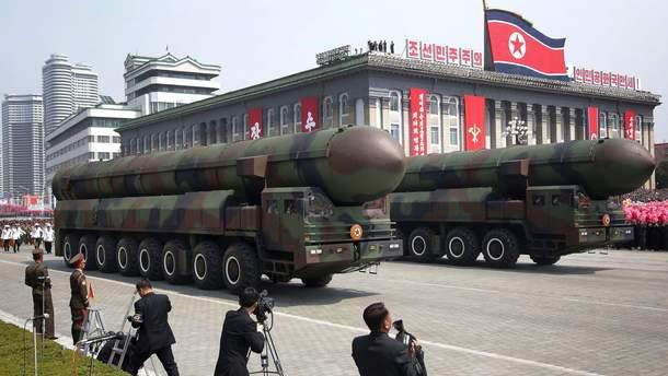 КНДР готова до ядерної війни на Корейському півострові