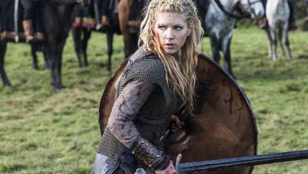 """Перша дружина Рагнара, Лагерта, з серіалу """"Вікінги"""""""
