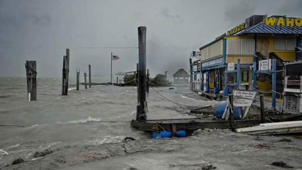 "Ураган ""Ирма"" уже во Флориде"