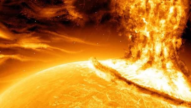 На Солнце произошел новый мощный взрыв