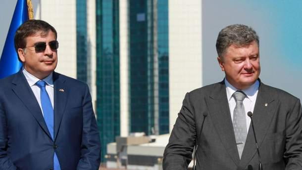 Европейские журналисты называют скандал вокруг Саакашвили