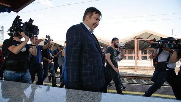 Михаил Саакашвили перед прорывом в Украину