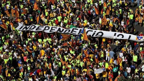 Протести в Барселоні