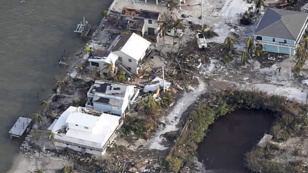"""Наслідки урагану """"Ірма"""" у Флориді"""