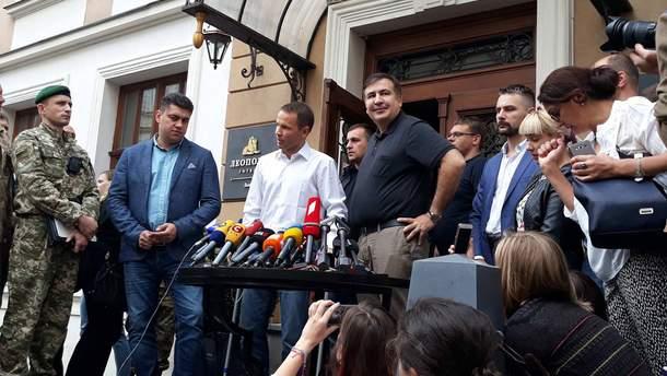 Суд рассмотрит дело незаконного пересечения границы Саакашвили 18 сентября