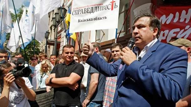 Саакашвили провоцирует восстание в Украине