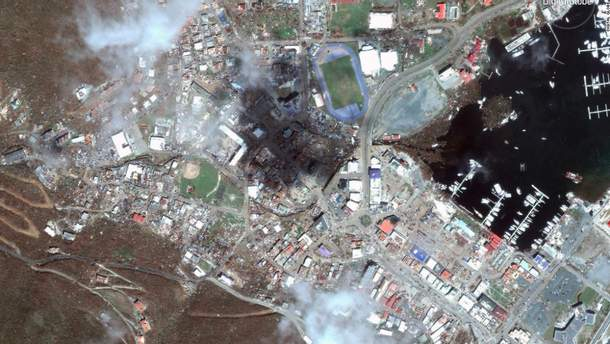 "Апокалипсис на островах в Карибском море после урагана ""Ирма"""