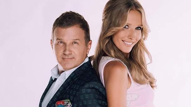 Звездные супруги – Катя Осадчая и Юрий Горбунов