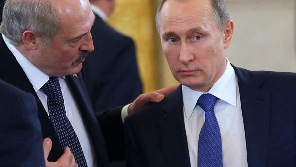 Лукашенко раздражает Путина