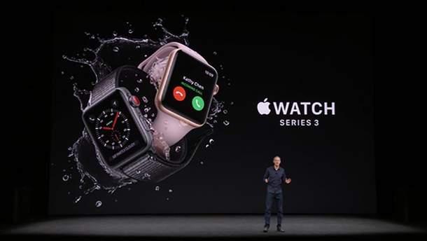 Apple Watch Series 3: характеристики и цены новых часов