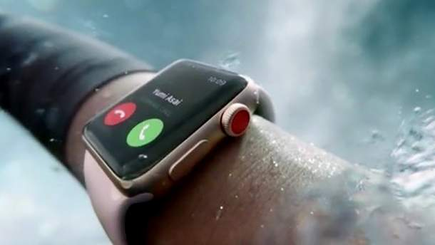 В рекламном ролике Apple Watch показали Киев