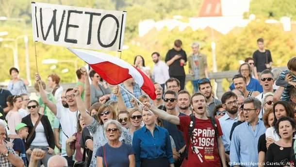 ЄС може ввести санкції проти Польщі