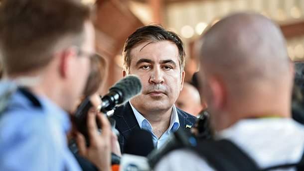 Михеил Саакашвили исчез из отеля во Львове