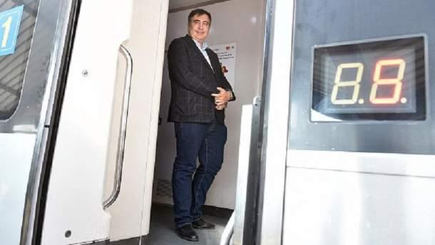 Михаил Саакашвили исчез из гостиницы во Львове