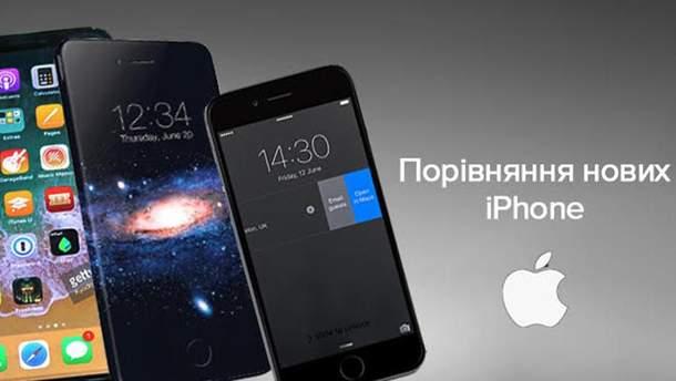 Чем отличают iPhone 8, iPhone 8 Plus и iPhone X