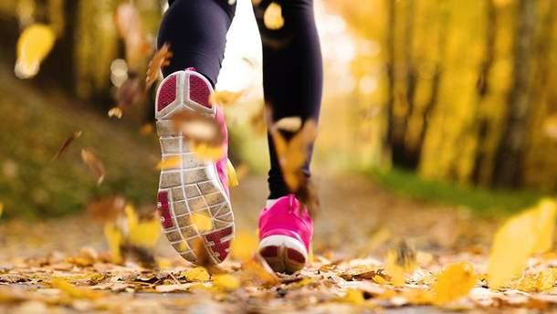 Правила бега осенью