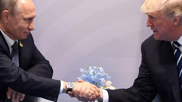 """Путін передав Трампу план """"нормалізації"""" відносин Росії та США"""